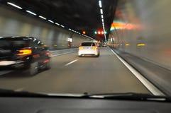 In de tunneltunnel Royalty-vrije Stock Afbeelding