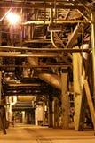De turbine van de stoom Stock Afbeelding