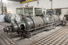 De turbine van de stoom Stock Afbeeldingen