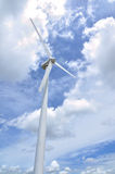 De turbine van de wind Stock Foto's