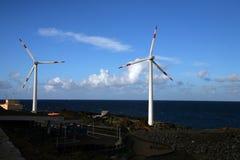 De turbine van de wind Stock Fotografie