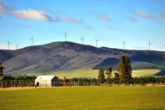 De turbine van de wind Stock Afbeelding