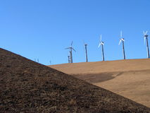 De Turbine van de wind Royalty-vrije Stock Afbeelding