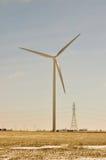 De Turbine van de wind leidt tot de Macht Stock Fotografie