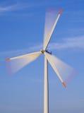 De turbine van de wind in motie Royalty-vrije Stock Afbeelding