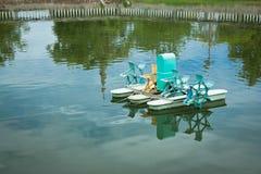 De turbine van het water Stock Foto