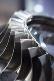 De turbinebladen sluiten omhoog Royalty-vrije Stock Afbeeldingen