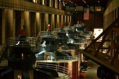 De Turbines van de Hooverdam Stock Foto