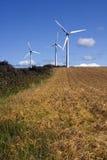 De turbines van de wind Stock Foto's