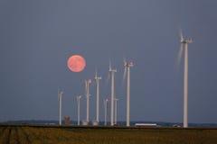 De Turbines van de wind Royalty-vrije Stock Afbeeldingen