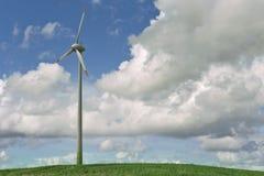 De turbines van de wind Stock Afbeelding