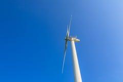 De turbines van windgenerators Stock Afbeeldingen