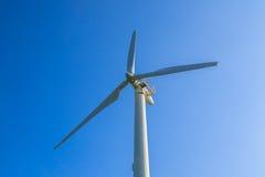 De turbines van windgenerators Royalty-vrije Stock Afbeeldingen