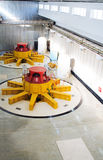 De turbogeneratoren van het water Royalty-vrije Stock Fotografie