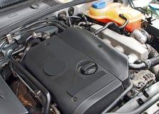 De turbomotor van de auto Stock Afbeeldingen