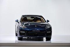 De turbostafmedewerker van Porsche Stock Foto