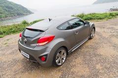 De Turboversie van Hyundai Veloster 2013 Stock Afbeeldingen