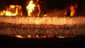 De Turkse Anatolische Traditionele Oostelijke Voedselrundvlees of Kebab van Lamsdoner stock video