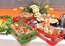 De Turkse Lijst van het Stijl Traditionele Ontbijt Stock Fotografie
