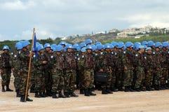 De Turkse Militairen van de V.N. Royalty-vrije Stock Afbeelding