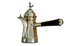 De Turkse pot van de Koffie Stock Afbeelding