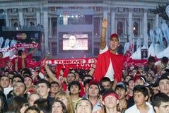 De Turkse Ventilator van het Voetbal Stock Fotografie