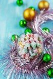 De Turkse verrukking van Kerstmis Royalty-vrije Stock Afbeeldingen