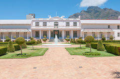 De Tuynhuys i Cape Town, Royaltyfri Fotografi