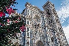 De två symbolerna av Florence arkivfoton