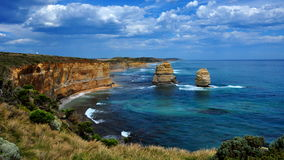 De twaalf Apostelen, Grote OceaanWeg, Australië Stock Fotografie