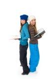 De twee jonge studenten Royalty-vrije Stock Fotografie