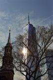 De twee torens - New York Stock Afbeeldingen