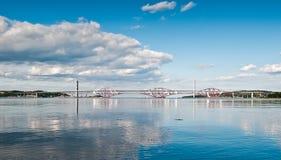 De twee vooruit bruggen Stock Fotografie
