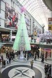 De tweede kerstdag is de bezigste het winkelen dag van het jaar Royalty-vrije Stock Fotografie