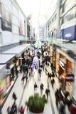 De tweede kerstdag is de bezigste het winkelen dag van het jaar Stock Foto's