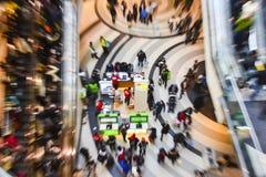De tweede kerstdag is de bezigste het winkelen dag van het jaar Royalty-vrije Stock Foto
