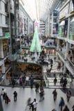 De tweede kerstdag is de bezigste het winkelen dag van het jaar Royalty-vrije Stock Afbeelding