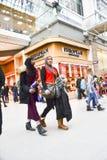 De tweede kerstdag is de bezigste het winkelen dag van het jaar Royalty-vrije Stock Afbeeldingen