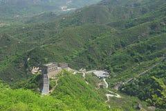 De Tweede Toneelvlek van de Grote Muur van Badaling, Badaling, China Stock Afbeelding