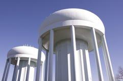 De tweeling Torens van het Water royalty-vrije stock foto