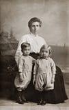 De tweelingen Royalty-vrije Stock Fotografie