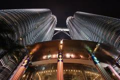 De tweelingtoren van Petronas Stock Fotografie