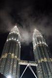 De TweelingToren van Petronas, Kuala Lumpur, Maleisië Royalty-vrije Stock Fotografie