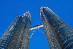 De tweelingtorens van Kuala Lumpur Stock Fotografie