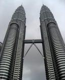 De Tweelingtorens van Kuala Lumpur - van Maleisië - van Petronas Royalty-vrije Stock Foto