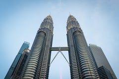 De TweelingTorens van Petronas royalty-vrije stock afbeelding