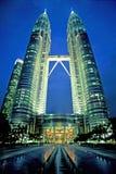 De TweelingTorens van Petronas stock afbeeldingen