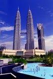 De TweelingTorens van Petronas Stock Foto's