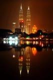 De TweelingTorens van Petronas Stock Foto