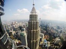 De TweelingTorens van Petronas Stock Afbeelding
